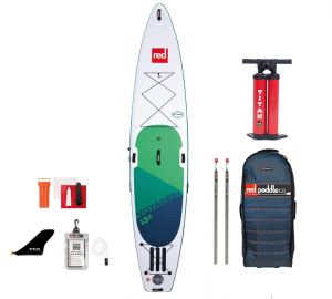 irklentė red paddle 12'6″ VOYAGER 2020